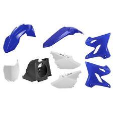 Polisport Restyle Complete Plastic Kit Set Blue YAMAHA YZ125 YZ250 2002-2014