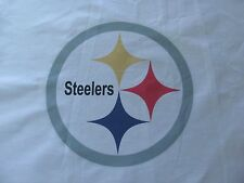 1 PITTSBURGH STEELERS FOOTBALL LOGO 18X18 SEWING BLOCK QUILT SQUARE NFL FABRIC