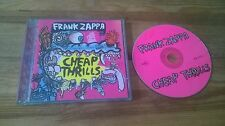 CD Rock Frank Zappa - Cheap Thrills (13 Song) RYKODISC