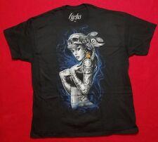 """Men's """"Smoke Tattoo"""" SS Tee Shirt Size 2XL FREE SHIPPING!!!"""