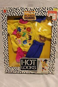 Mattel Hot Looks Mix N Match Fashions SWEATSHIRT SET Outfit clothes Models Doll