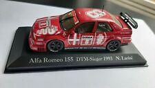 1/43 Minichamps   Alfa Romeo 155  V6 TI DTM '93 N. Larini