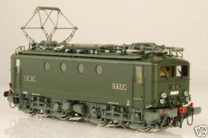 NEUF Lematec HO-129/2A Loc électrique BB 8114 SNCF Vert 301 Brass Fulgurex