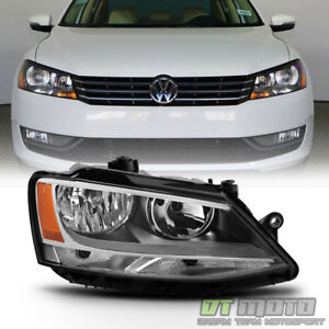 2011-2018 Volkswagen Jetta Halogen Model Headlight Headlamp Right Passenger Side