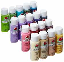 Apple Barrel Acrylic Paint 2 Oz Best Selling Product Art Supplies Set 18 Bottles