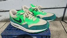 Nike Air Max 1 Atomic Green Sz 12 Teal 2012 Green Neon Beige Seattle Shoes Lot