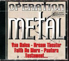 OPERATION METAL - CD COMPILATION NEUF ET SOUS CELLO