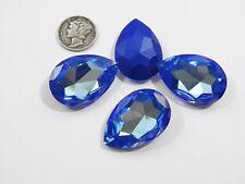 Royal Blue Delite UNF (30x20mm) Swarovski Art 4327 Teardrop Stone