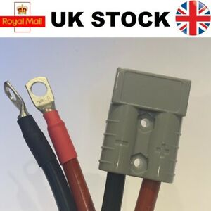 5m Grey Wired Anderson Connector Battery Assist Jump Lead Extension 16mm2 50 AMP