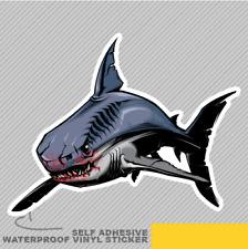 Tiburón peligroso Vinilo Pegatina Calcomanía ventana de coche furgoneta bicicleta 2722