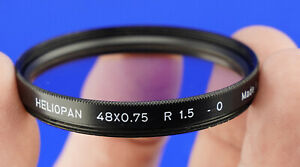 Heliopan Skylight Filter 48x0,75. R 1,5. -0 Made in Germany
