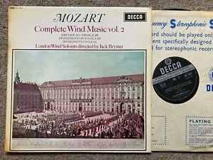 SXL 6051 WBG ED1 MOZART complete wind music vol. 2 BRYMER London Wind NM