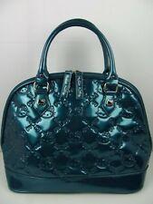 Loungefly Hello Kitty Vinyl Embossed Purse Teal RARE Tote Bag Handbag Bowling