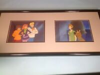 Scooby Doo Vintage Animation Production Cel Setups Hanna Barbera 1970's Framed