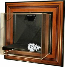 Kansas City Chiefs Case up Caseworks Mini Helmet Wall Display Case  GO CHIEFS !!