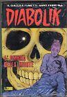 fumetto DIABOLIK ANNO XXXIII N. 4 CON RISTAMPA N.1 IL RE DEL TERRORE BLISTERATO