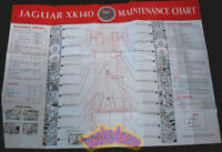 XK140 JAGUAR SHOP SERVICE REPAIR XK 140 WALL CHART MANUAL