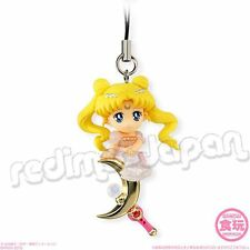 "SAILOR MOON Twinkle Dolly 3 ""Princess Serenity"" Moon Stick Figur Anhänger BANDAI"