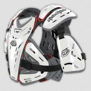 Troy Lee Designs Bodyguard Youth Chest Protector 5955 (OSFM, White)