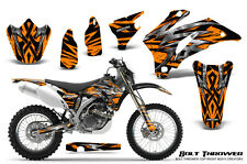 YAMAHA WR250F WR450F 2007-2011 GRAPHICS KIT CREATORX DECALS BTO
