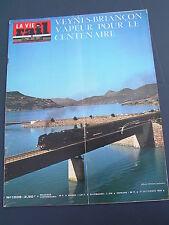 vie du rail 1975 1509 VEYNES BRIANCON vapeur