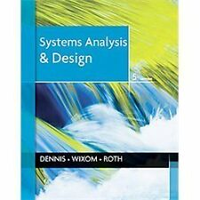 Systems Analysis and Design 5th edition by Alan Dennis (2012, PDF)