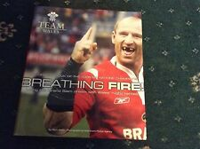 SIX NATIONS CHAMPIONS - OFFICIAL 2005 BOOK BREATHING FIRE