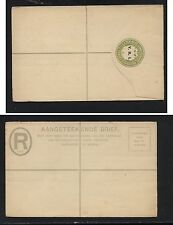 South Africa overprinted registered envelope