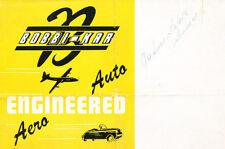 1946 Bobbi-Kar Original Dealer Sales Brochure Micro Car