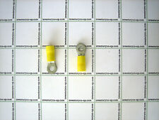 Ring Terminal 12-10 #8 Insulated Yellow 100 pcs.
