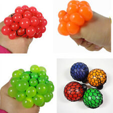 Novelty Anti Stress Face Reliever Grape Mesh Ball Baby Relief Healthy Toy Gift