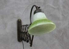 Vintage Scissor Lamp Harmonica lamp Wall sconce Lamp for Reading Sewing Writing