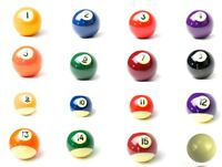 "FORMULA POOL KELLY BALL - 2"" SINGLE - Replacement Billiard Balls"