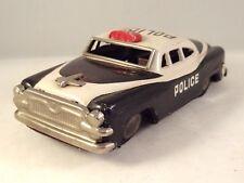 Ancien jouet voiture de police tôle litho chevrolet ? cadillac ? Ford ? 1950