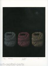 AVATI MARIO GRAVURE FICELLES 1969 SIGNÉ AU CRAYON NUM/55 HANDSIGNED NUMB ETCHING