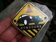 PORSCHE 356 REGISTRY USA 2007 - GYMKHANA Plakette Badge - 2/5  - Ser.#37