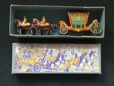 WELLS BRIMTOY 1937 CORONATION COACH & HORSES + ORIGINAL BOX EXC CDN