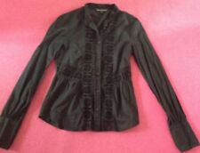 French Connection Black Shirt Uk Size 6 - Long Sleeves ⭐️