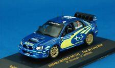 SUBARU IMPREZA WRC #2 TOUR DE CORSE 2004 HIRVONEN LEHTINEN IXO RAM157 1/43 RALLY
