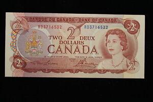 1974 Canada. ($2) Two Dollars. RD. Lawson-Bouey.