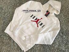 Supreme x Nike Air Jordan V 5 à capuche de pull XL blanc FW15 X-Large Hoodie Hoody