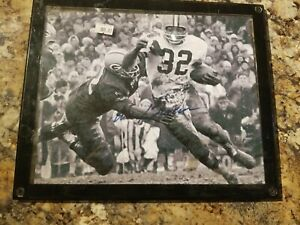 Jim Brown Cleveland Browns Autographed/Signed 8x10 Photo Framed