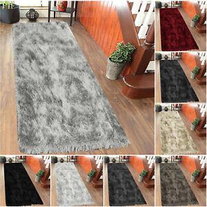 Non Slip Door Mats Long Hallway Runner Shaggy Rugs Bedroom Carpet Floor Mat