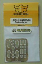 1/24-1/25 Mooneyes Foot Pedal HIGHLIGHT MODEL CAR Part 53