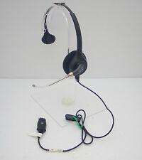 Plantronics SupraPlus P251 Mono Polaris Voice Tube Headset w/o lower QD Cable