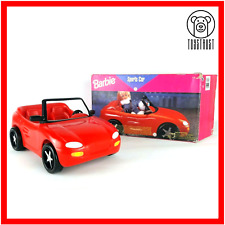 More details for barbie sports car red convertible hot drivin mattel vintage 90s push toy 67532