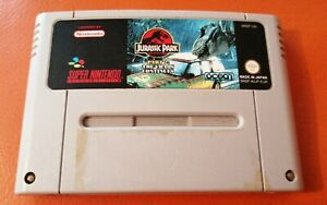 super nintendo snes Jurassic Park Part 2 The Chaos Continues FREEPOST TESTED