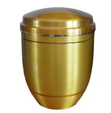 doré aluminium Urne de crémation pour cendres enterrement adulte souvenir GB