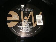 """CHRIS BENDER : I KNEW - 12"""" vinyl USA 1991 - EAST WEST 0 96327"""