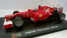 BURAGO RACING 1:32 AUTO FERRARI F2012 FERNANDO ALONSO  ART 18-46810